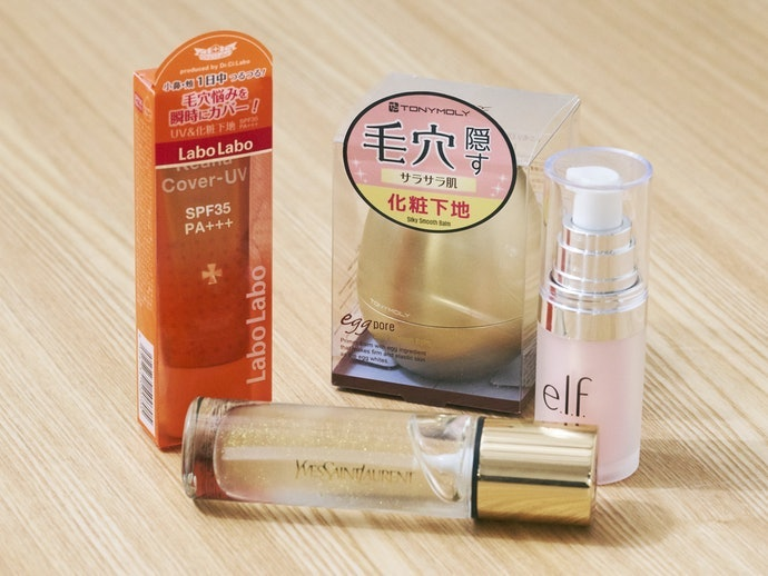 Apa yang dimaksud dengan makeup primer untuk menutupi pori-pori wajah?