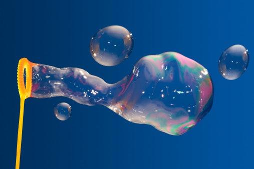 Cara membuat mainan gelembung sabun yang mudah