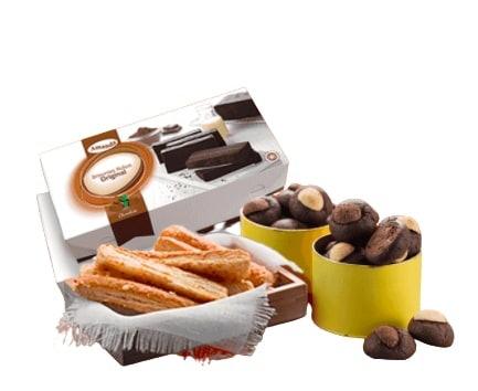 Amanda Brownies: Mulai dari brownies hingga camilan yang gurih ada semua