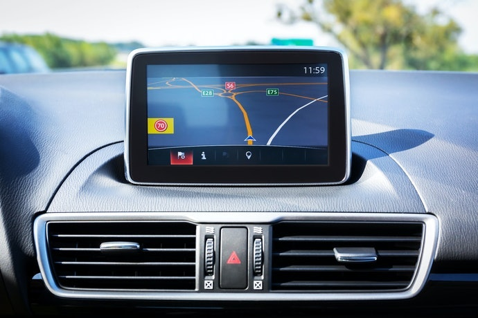 Tipe in-dash, tampilan interior mobil terlihat lebih rapi