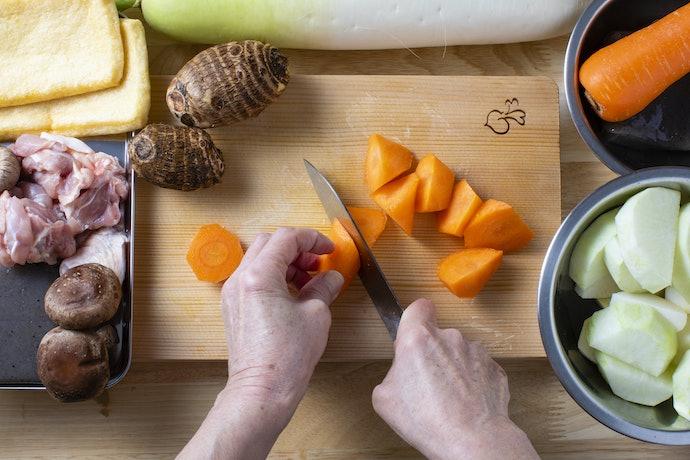 Pisau buah dan sayuran, memudahkan untuk pemotongan dengan berbagai bentuk