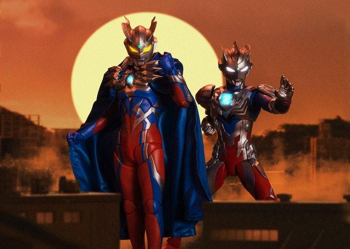 SH Figuarts Ultraman, Anda bisa beraksi dengan replika bangunan