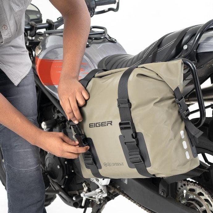 Side bag, sempurna untuk touring jarak pendek
