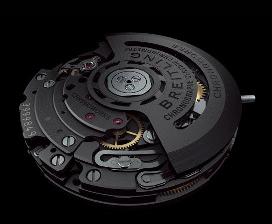 Teknologi movement kebanggaan Breitling, Caliber 01