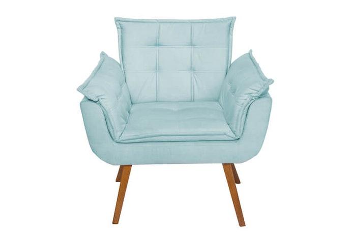 Sofa satu seater, mudah diatur untuk menciptakan berbagai interior berbeda