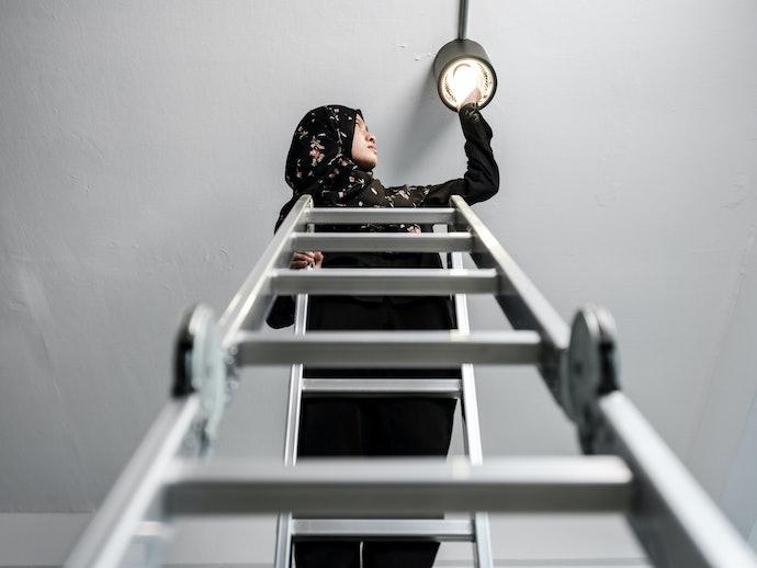 Apa kelebihan tangga aluminium?