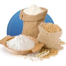 Untuk tepung terigu, pilih berdasarkan kandungan proteinnya