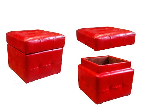 Storage stool, solusi untuk ruangan mungil