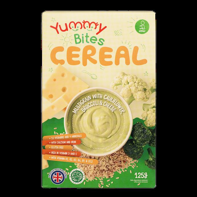 Yummy Bites Cereal: Mengandung sepuluh vitamin dan enam mineral