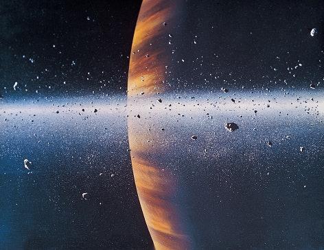 Penyebab lainnya, ketidakseimbangan ekosistem sampai benturan asteroid