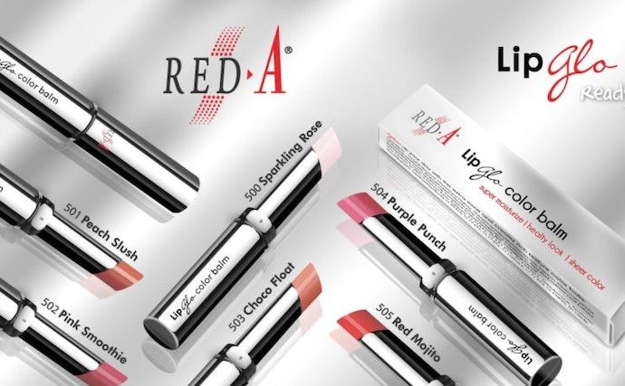 Red-A Lip Glo Color Balm, 3-in-1 lipstik multifungsi