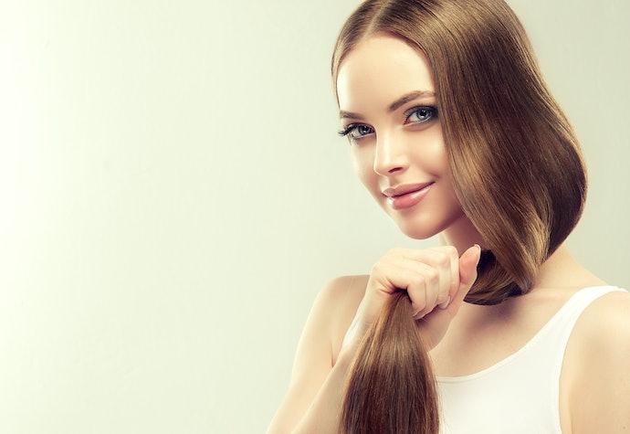 Membuat rambut tampak sehat dan berkilau