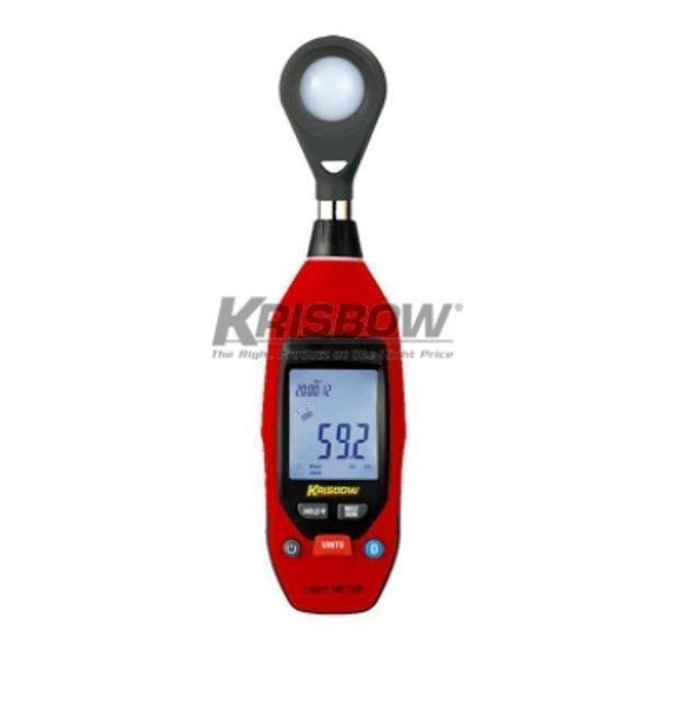 Krisbow Light Meter Digital 40.000 Lux 1
