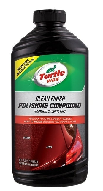 Turtle Wax Clean Finish Polishing Compound 1