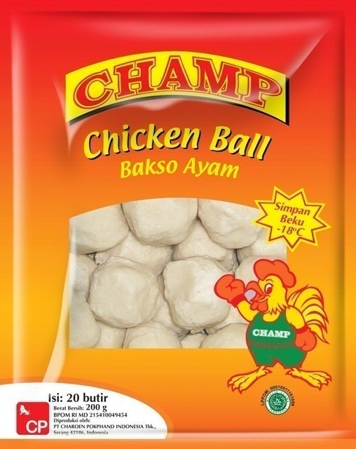 CP Food Indonesia CHAMP CHICKEN BALL 1