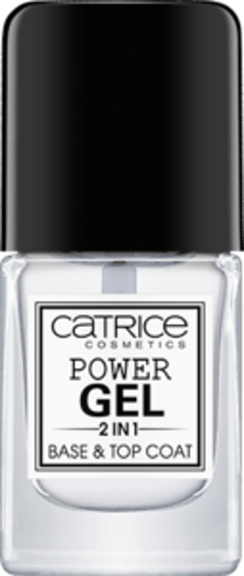 Catrice Cosmetics Power Gel 2in1 Base & Top Coat 1