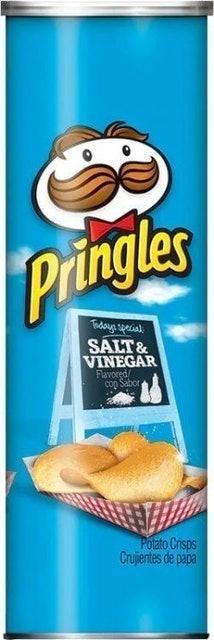Kellogg's Pringles Salt & Vinegar 1