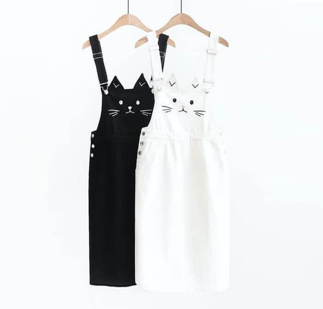 Twins Cat Overall 1