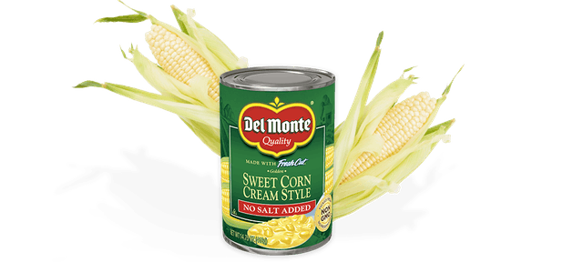 Del Monte Foods Cream Style Golden Sweet Corn - No Salt Added 1
