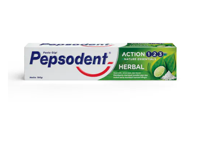 Unilever Pepsodent Action 123 Herbal 1