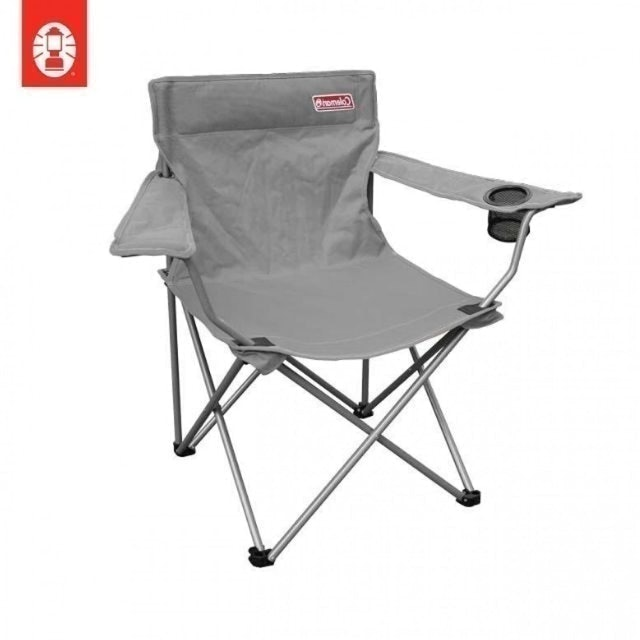 Coleman Go! Quad Arm Chair - Grey 1