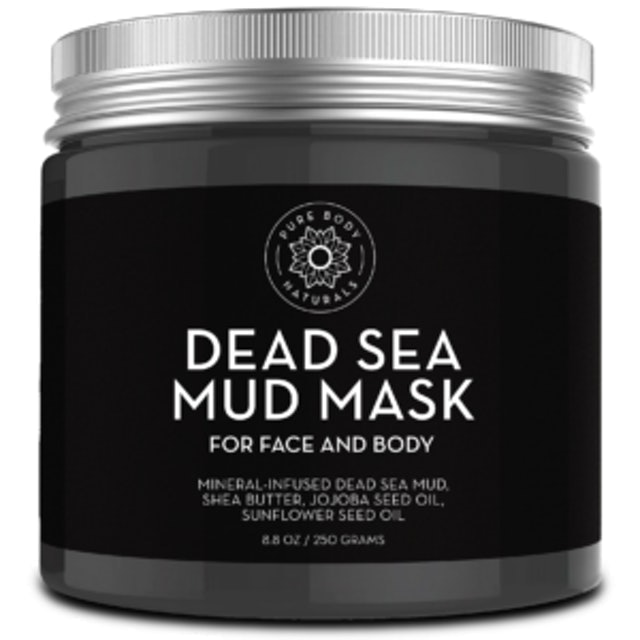Pure Body Naturals Our Original Dead Sea Mud Mask for Face and Body 1