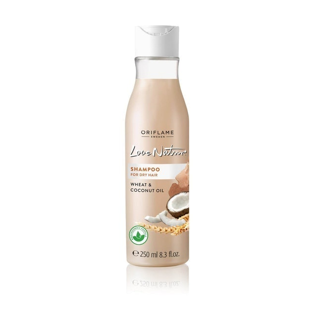 Oriflame Love Nature Shampoo for Dry Hair Wheat & Coconut Oil 1