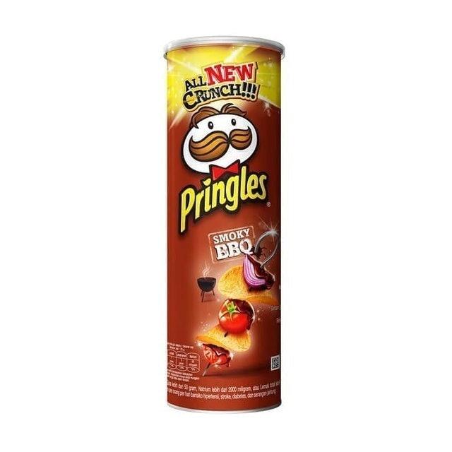 Kellogg's Pringles Smoky BBQ 1