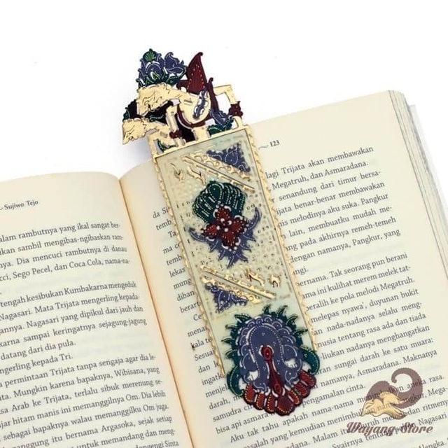 Pembatas Buku Wayang Kulit Rama Shinta 1
