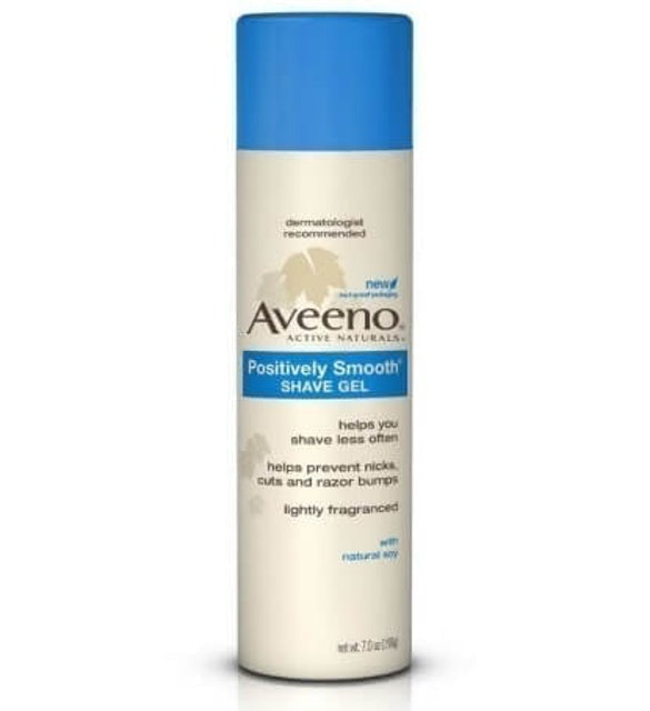 Aveeno  Positively Smooth Shave Gel 1