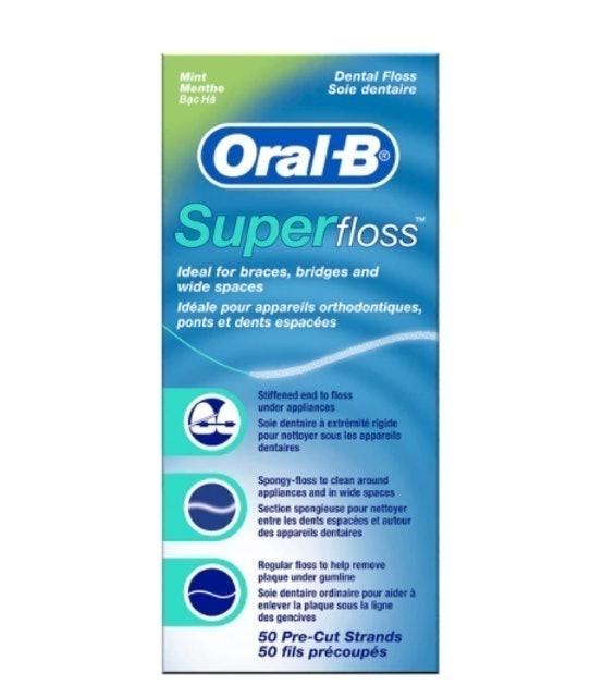 Procter & Gamble Oral-B Super Floss 1