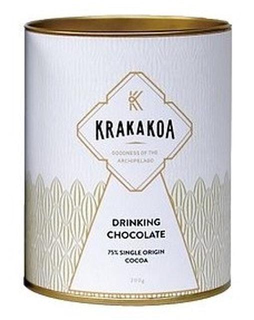 Krakakoa Drinking Chocolate, 75% Single Origin Cocoa 1