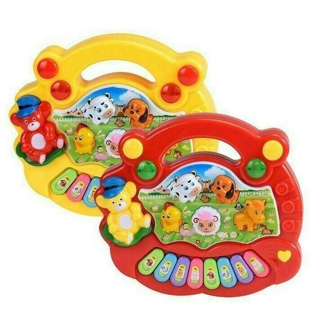 Mainan Anak Animal Farm Piano 1