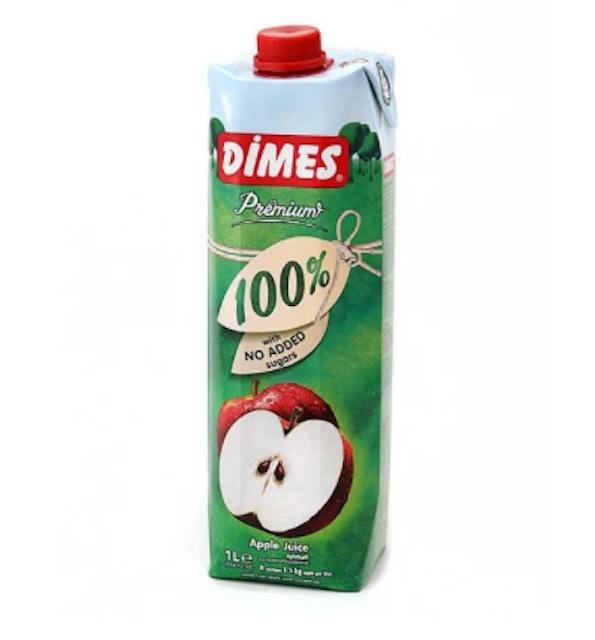 Dimes Premium 100% Apple Juice with No Added Sugar 1