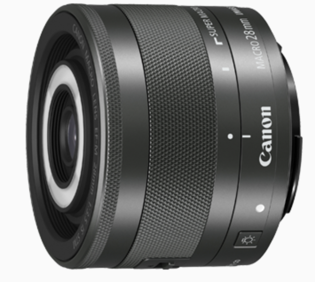 Canon EF-M28mm f/3.5 Macro IS STM 1