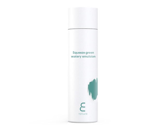 E NATURE Squeeze Green Watery Emulsion 1