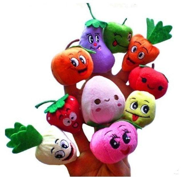 Fruit & Veggie Finger Puppet 1