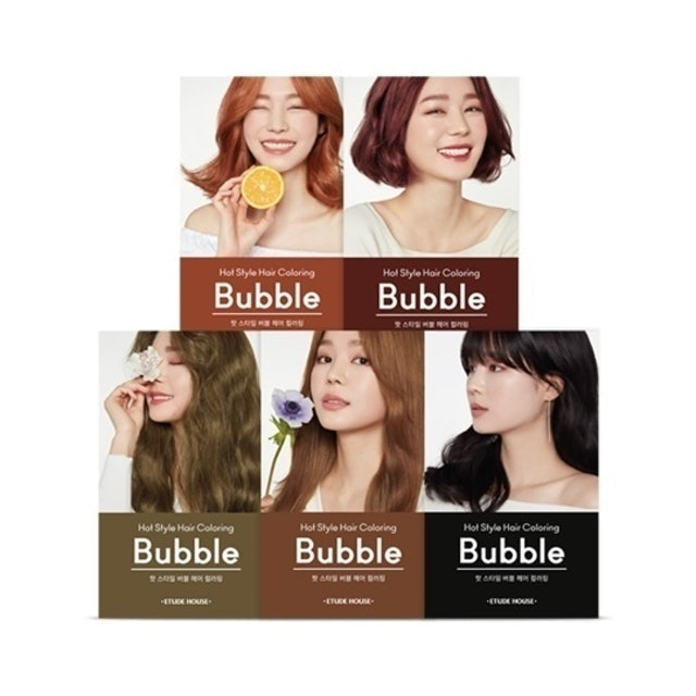 Etude House Hot Style Bubble Hair Coloring 1