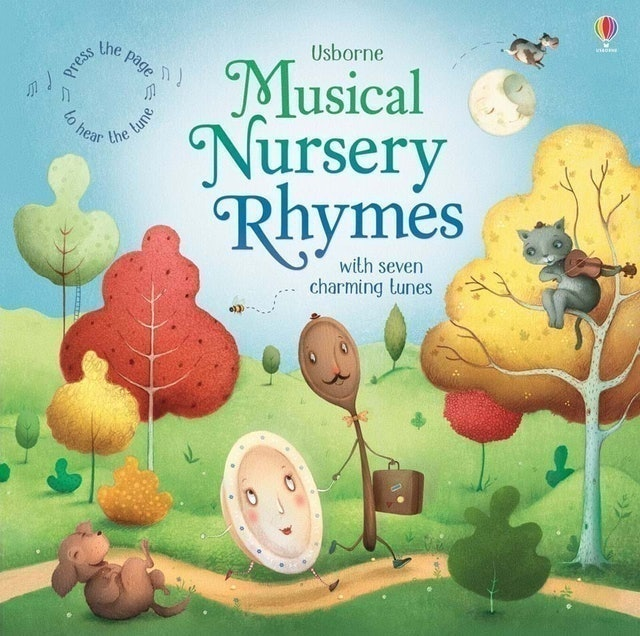 Usborne Musical Nursery Rhymes with Seven Charming Tunes 1