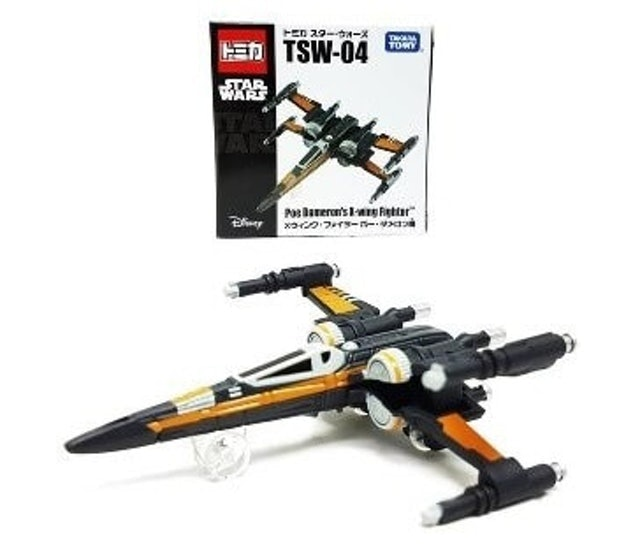Tomica Star Wars Poe Dameron's X-Wing Fighter 1