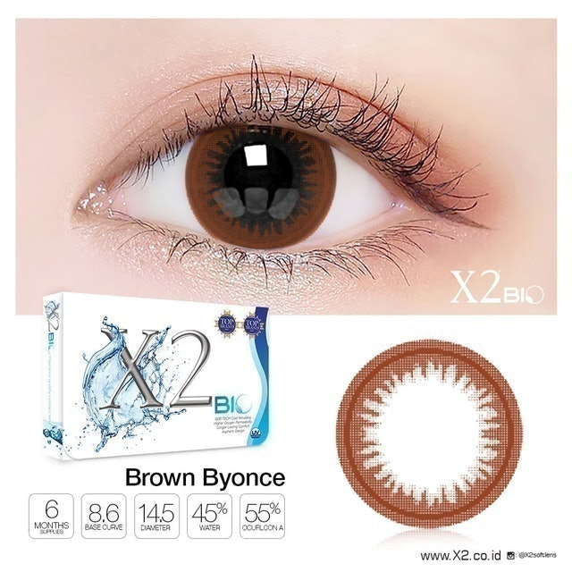 Exoticon  X2 Bio Brown Byonce 1