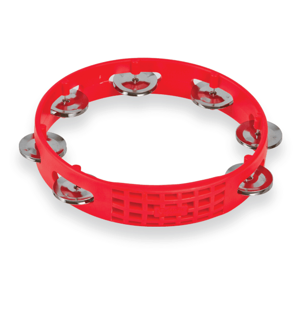 "Latin Percussion Aspire® 8"" Tambourine Red 1"