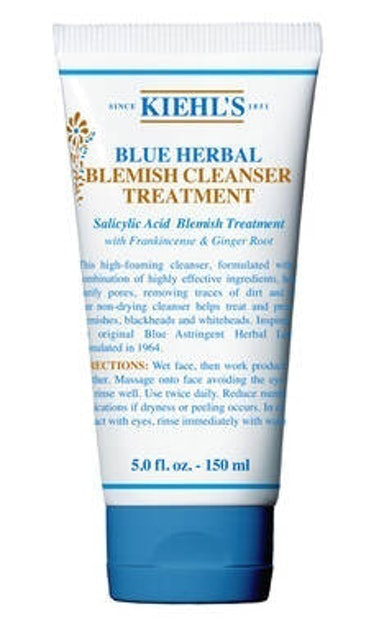 Kiehl's Blue Herbal Blemish Cleanser Treatment 1