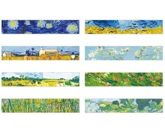 Van Gogh Painting Washi Masking Tape 1