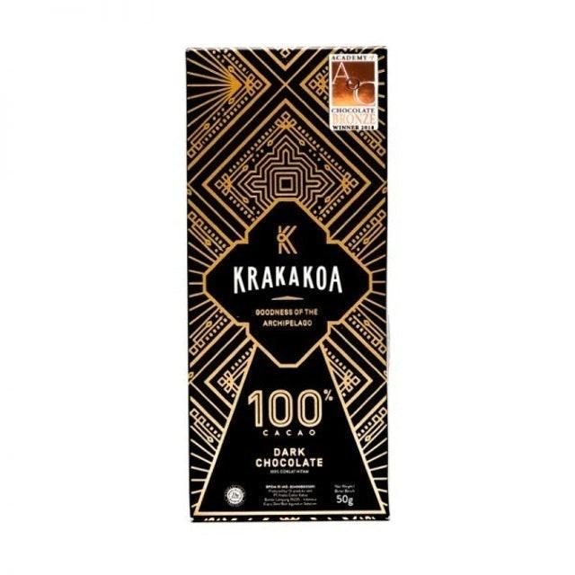 Krakakoa Arenga 100% Dark Chocolate 1