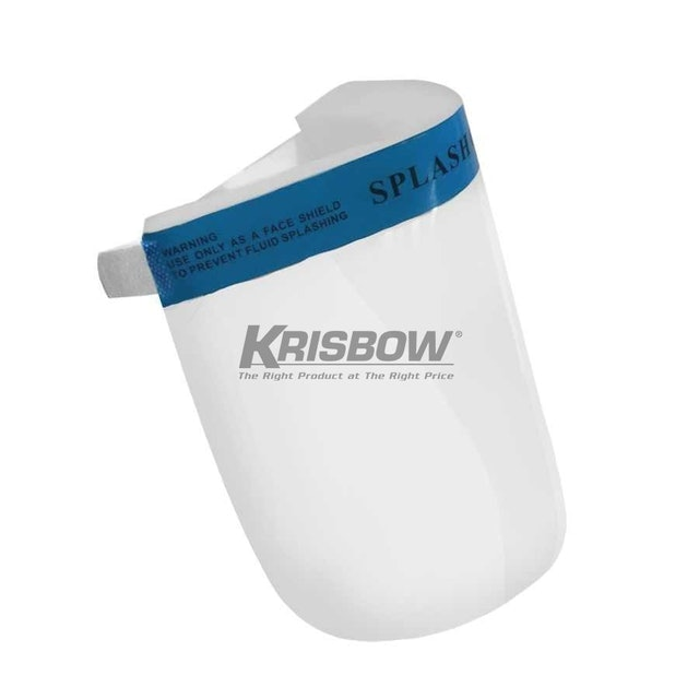 Krisbow Face Shield with Clear Visor & Spons 1