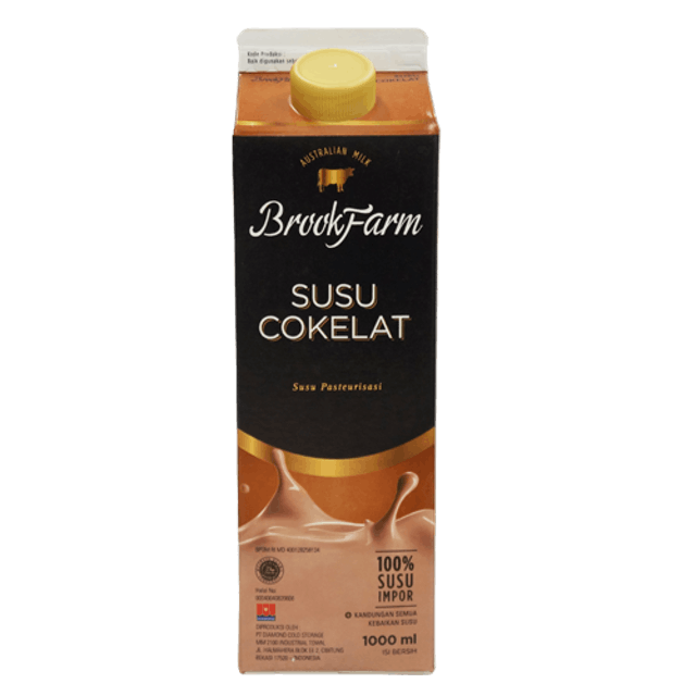 Sukanda Djaya Brookfarm Fresh Milk Chocolate 946 ml 1