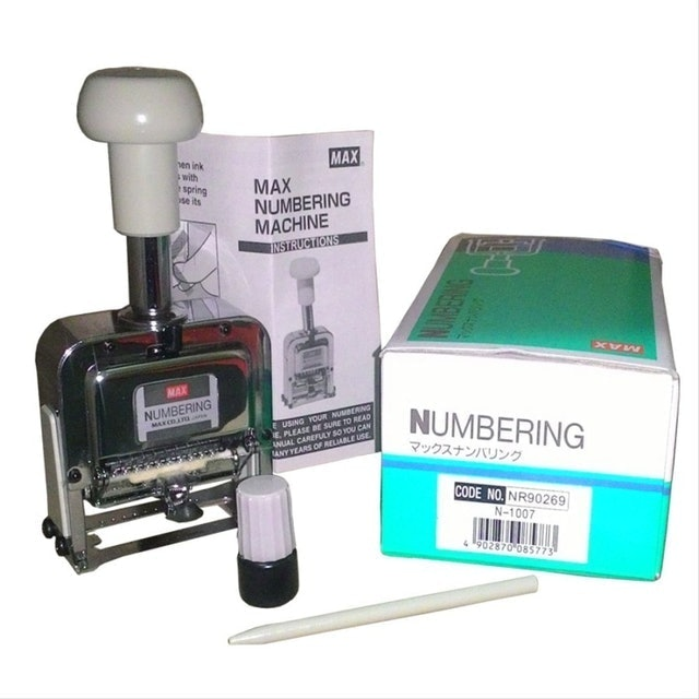 Max Numbering Machine 1