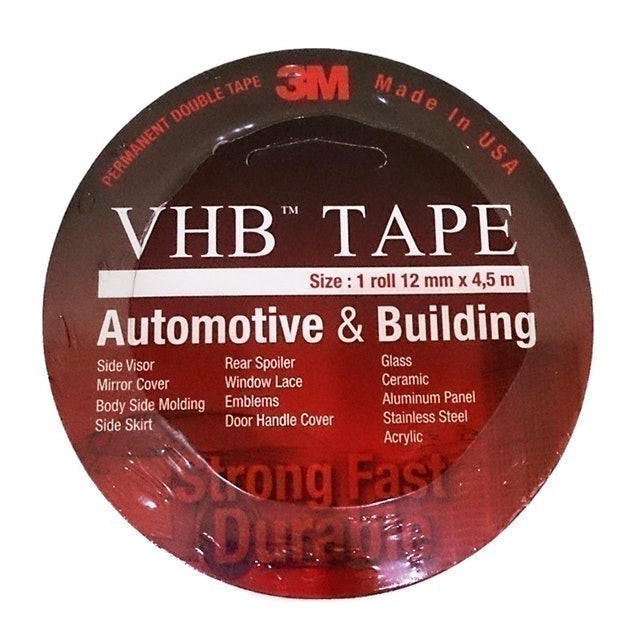 3M VHB Double Tape Automotive 4900 12 mm 1