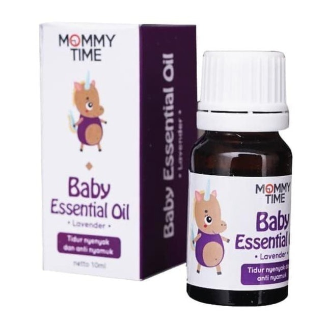 Mommytime Baby Essential Oil Lavender 1